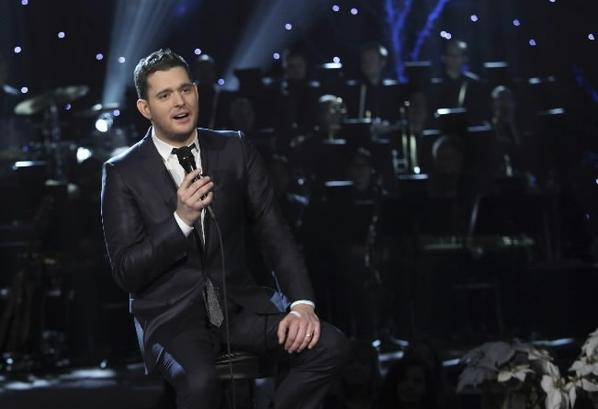 Crooner Michael Buble performs Saturday at the United Center.
