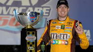 Kyle Busch rides steady into Richmond after last year's epic fail