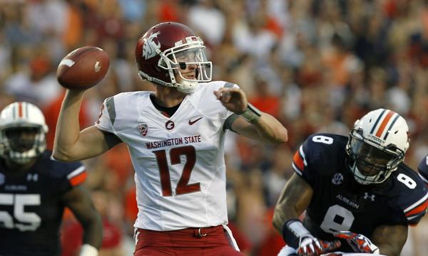 Washington State quarterback Connor Halliday put up a strong performance in the Cougars' season opener against Auburn.