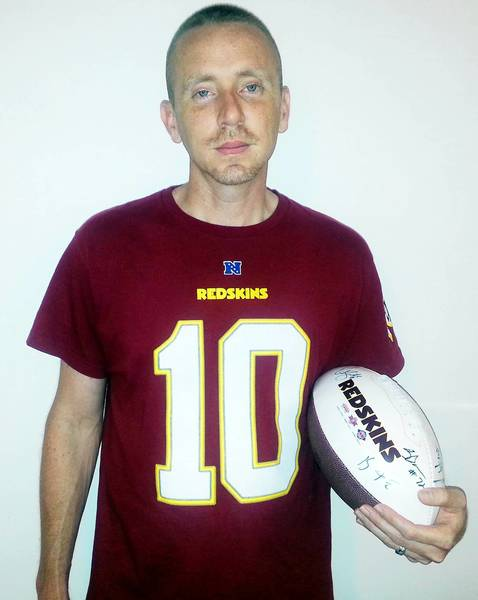 The Washington Redskins invited Hampton resident Robert Claypoole to their training camp Tweet Up.