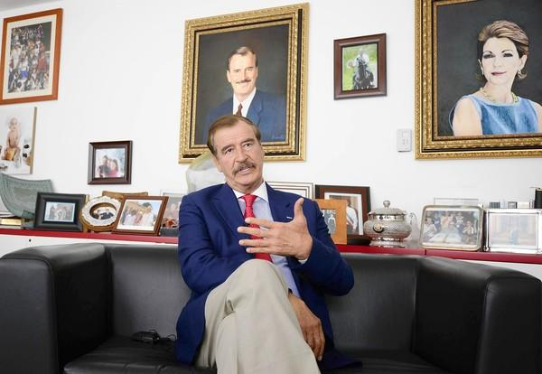 Former President Vicente Fox of Mexico, who has always considered himself a policy maverick, has emerged as one of his country's most outspoken advocates of marijuana legalization.
