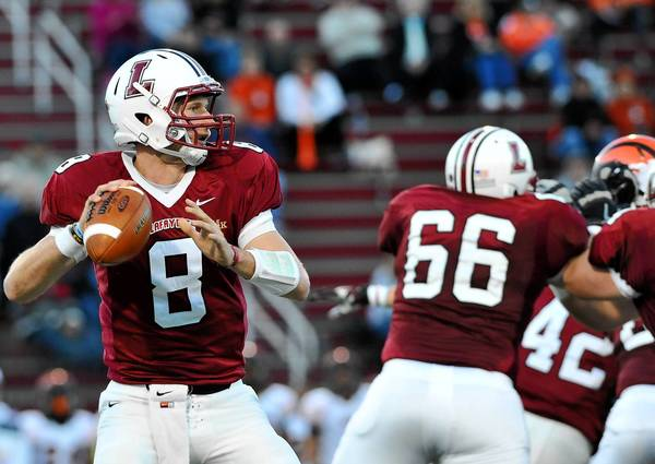 Lafayette will count on quarterback Zach Zweizig, who at 6-5, 232, possess physical toughness and a rifle arm.