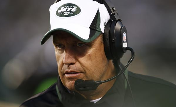 Rex Ryan of the New York Jets is taking heat for leaving the team Saturday to visit his son.