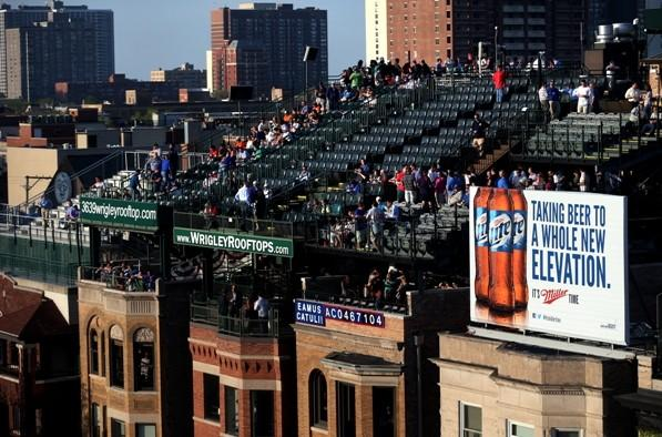 Wrigley Field Rooftop seats are some of the most debated tickets on RateYourSeats.com, who released their first mobile iPhone app on Wednesday.