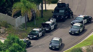 SWAT standoff near San Diego ends in apparent suicide