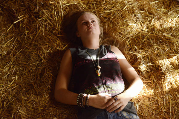 "Mackenzie Lintz of ""Under the Dome"""