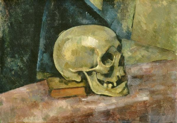 "Cezanne's ""Still Life with Skull,"" a 1952 gift to the White House, has never hung there."