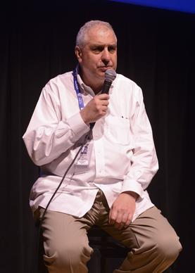 "Director Errol Morris attends a screening of his latest documentary, ""A Portrait of Donald Rumsfeld,"" on the fourth day of the 2013 Telluride Film Festival."