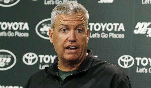 New York Jets Coach Rex Ryan speaks to the media on missing the team's final cuts Saturday.