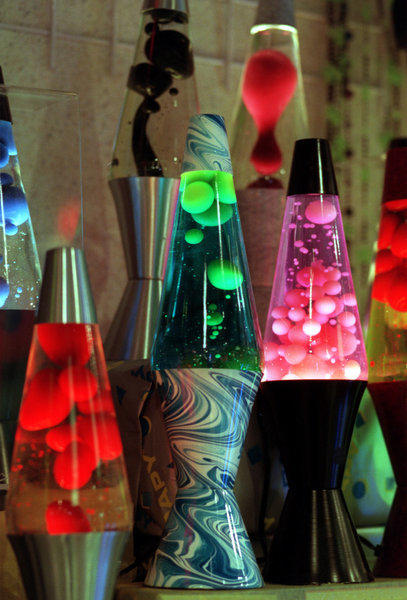 British inventor Edward Craven Walker designed the first lava lamp in 1963.