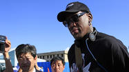 Dennis Rodman's North Korea visit puts spotlight on jailed American