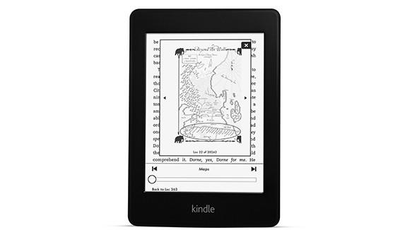 The second-generation Kindle Paperwhite, unveiled by Amazon on Tuesday.