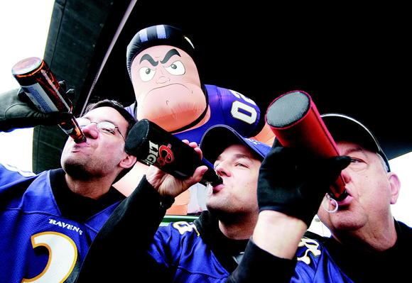 Drink up. The Ravens are playing. Just follow our rules.