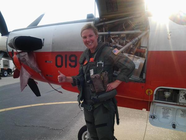 Ensign Sarah Kupovits recently completed soloing in the T-6 Texan II, a high performance jet turbine trainer as part of her naval pilot training.