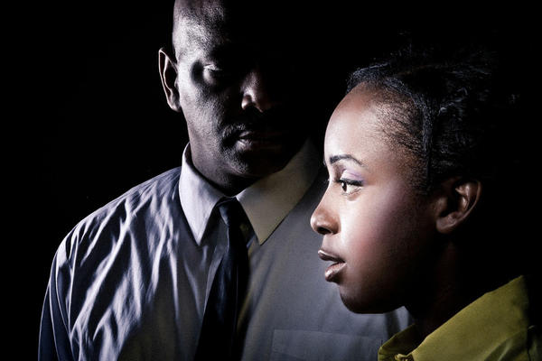 David Alan Anderson and Lisa Beasley in 'The Mountaintop'
