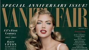 Kate Upton named model of the year, covers Vanity Fair