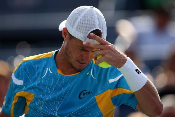 Lleyton Hewitt had the crowd on his side, but lost in the quarterfinals.