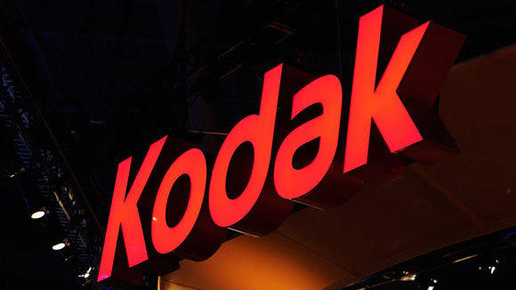 The Kodak booth at the 2012 International Consumer Electronics Show in Las Vegas.