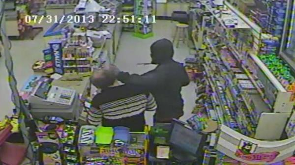 Broward Sheriffs detectives are searching for two masked men for the armed robbery at a Pompano Beach Stop N Go convenience store