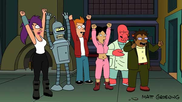 "It's the end of ""Futurama"" as we know it as the animated science fiction spoof airs its series finale."
