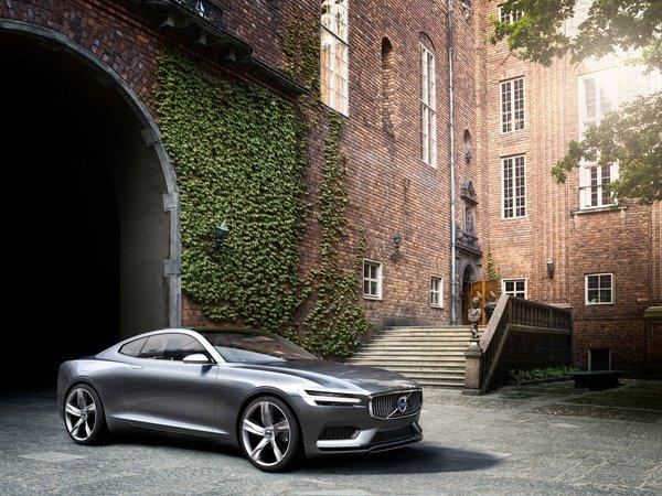 The Volvo Concept Coupe hints at the design direction the automaker's future products will follow.