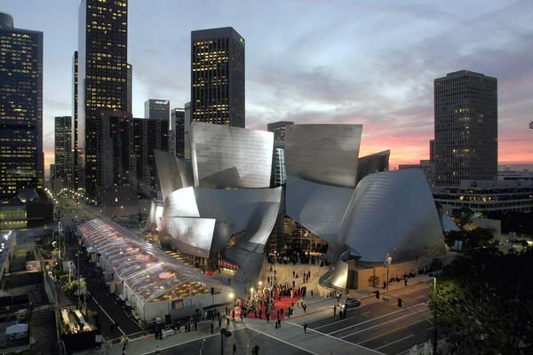 Walt Disney Concert Hall opened in Los Angeles on Oct. 23, 2003.