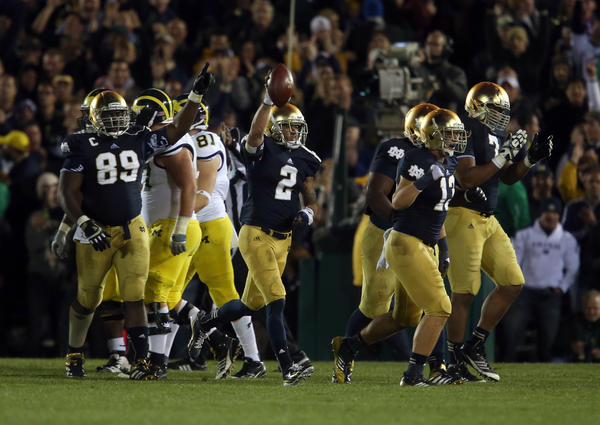 Michigan coach Brady Hoke doesn't want the series with Notre Dame to end.
