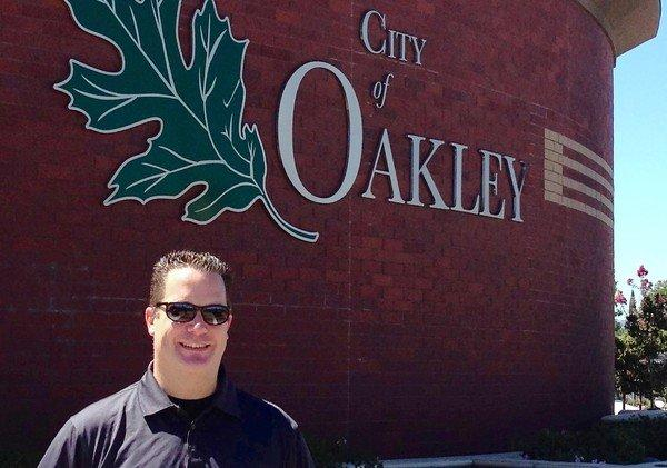 Oakley City Councilman Randy Pope says he has no aspirations beyond City Council but figures he'd have a tough time winning higher office as a Republican.