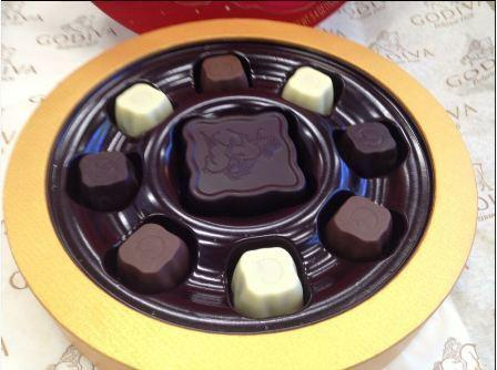 The mooncake collection from Godiva