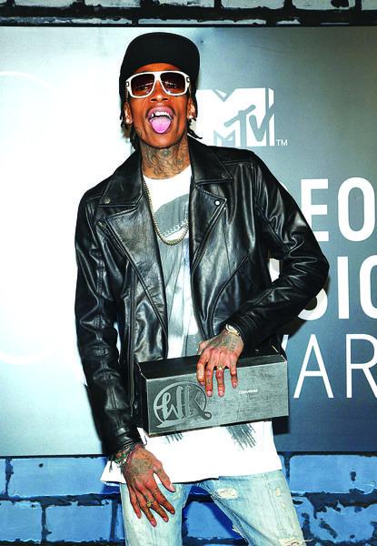 Wiz Khalifa turns 26 on Sept. 8.