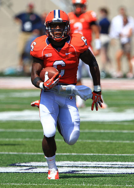 Fighting Illini running back Josh Ferguson was part of an ineffective running game against Southern Illinois.