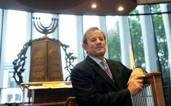 """""""I don't need a war to remind me to speak about Israel,"""" says Rabbi Mitchell Wohlberg of the Beth Tfiloh Congregation. """"Israel is always relevant."""""""