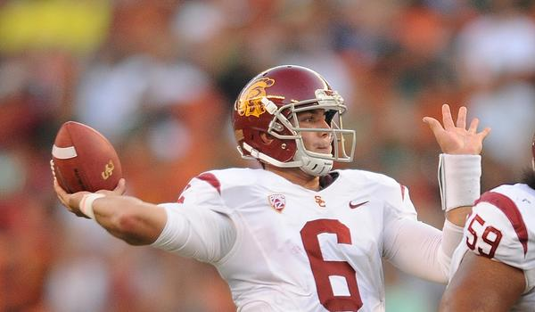 USC quarterback Cody Kessler might start again for the Trojans when they play host to Washington State on Saturday.