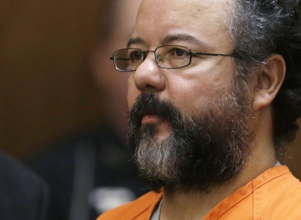Ariel Castro in the courtroom during the sentencing phase in Cleveland.