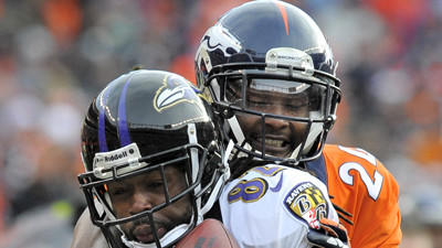 Ravens' Torrey Smith preparing for injured Broncos corner Champ…