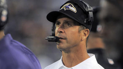 For hungry Ravens coach John Harbaugh, yesterday's gone