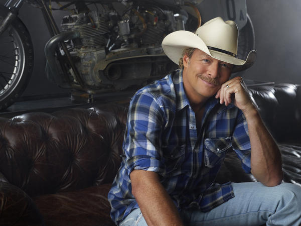 Two-time Grammy winner Alan Jackson performs at Merriweather Post Pavilion on Friday.