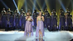 "American Military Spouses Choir sings Sarah McLachlan, awaits results on ""America's Got Talent"""