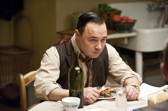 "Stephen Graham as Al Capone in a scene from HBO's ""Boardwalk Empire."""