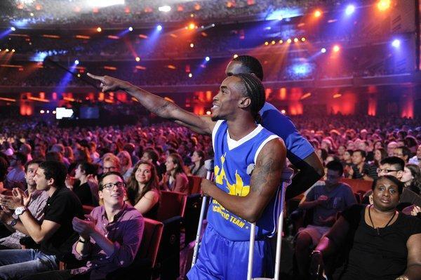 "Acrobatic team Chicago Boyz on ""America's Got Talent."""