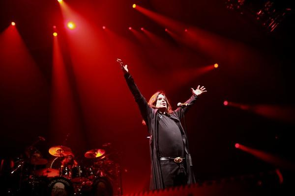 Ozzy Osborne of Black Sabbath