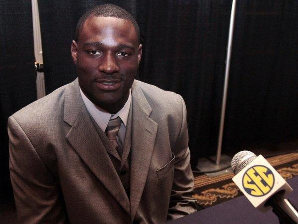 Chris Walker, who played football at Tennessee, is one of three former players suing the NCAA.