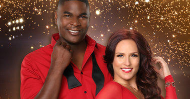 Keyshawn Johnson will partner with Sharna Burgess. He is a former NFL Super Bowl champion and Pro Bowl wide receiver who played for the New York Jets, Tampa Bay Buccaneers, Dallas Cowboys and Carolina Panthers. These days, he's a television personality.