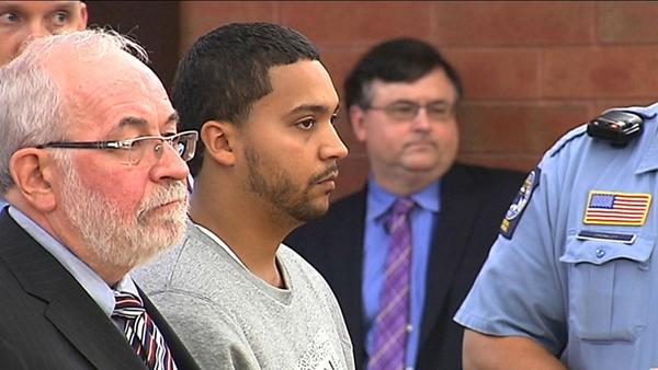 Angel Morales was arraigned Wednesday in Superior Court. Morales is accused of shooting 21-year-old Miguel Delgado at about 12:30 a.m. Friday after an argument that broke out inside Up or On the Rocks, 50 Union Place.