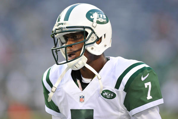 New York Jets quarterback Geno Smith.