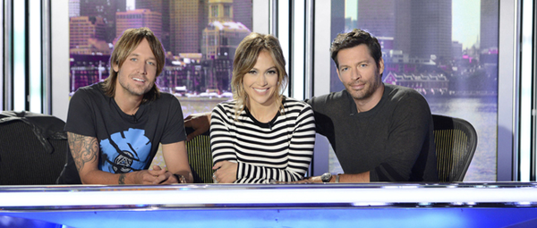 "Keith Urban,Jennifer Lopez and Harry Connick Jr. will judge ""American Idol XIII."""