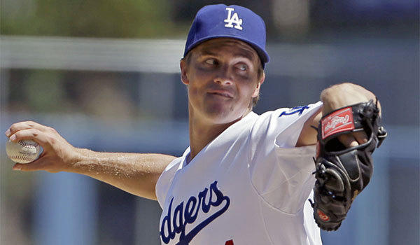 Dodgers pitcher Zack Greinke went 5-0 with a 1.23 ERA in his five August starts.