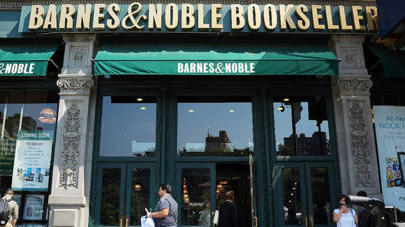 A Barnes & Noble bookstore in New York City.