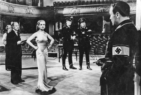 "Carole Lombard confronts Nazis in ""To Be Or Not To Be"" reissued on DVD and Blu-ray."