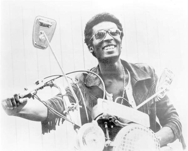 "Jimmy Cliff in the 1973 film ""The Harder They Come."""